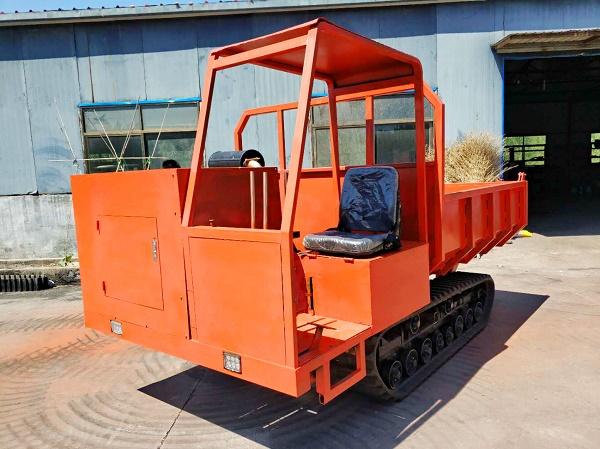 履带运输车轻量化有利于其在果园的应用