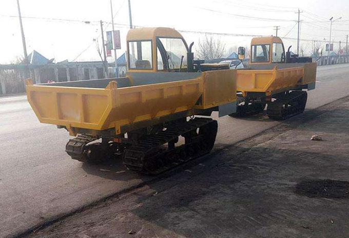 山东大型中交路建采购履带运输车设备