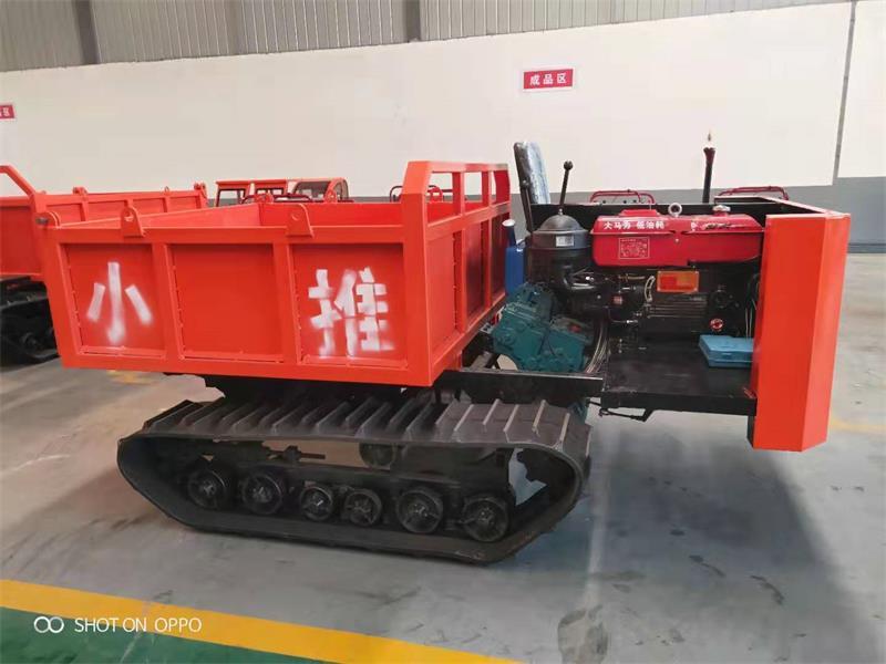 野外工程履带车五吨自卸车